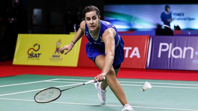 Carolina Marín comienza con buen pie en el segundo torneo de Tailandia