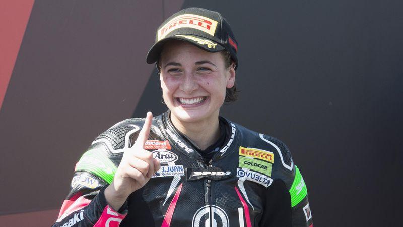 ¡Volvió Ana Carrasco! Espectacular victoria tras un final muy accidentado