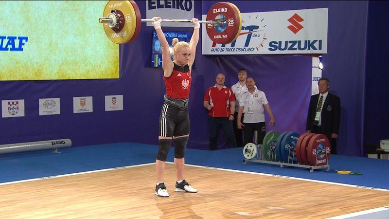 Joanna Lochowska claims gold