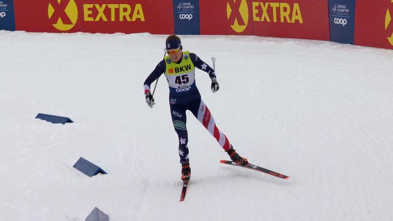 'Incredible' - Rosie Brennan wins women's 10km in Davos