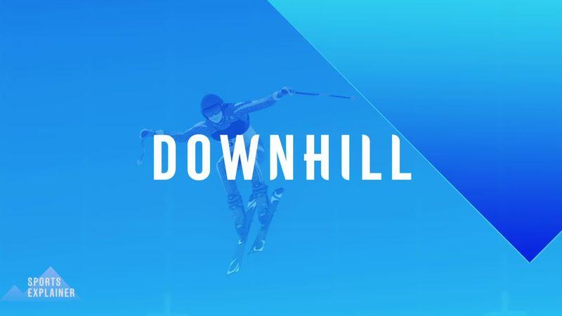 Beijing 2022: How alpine downhill skiing works