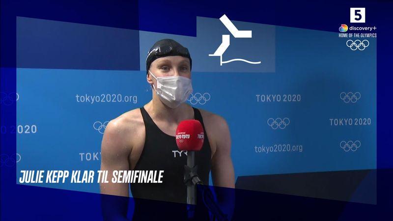 Julie Kepp Jensen klar til semifinale: Megafedt