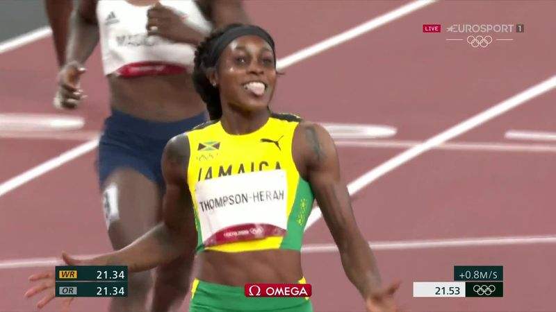 'No woman has done that before!' - Thompson-Herah seals stunning sprint double with 200m gold