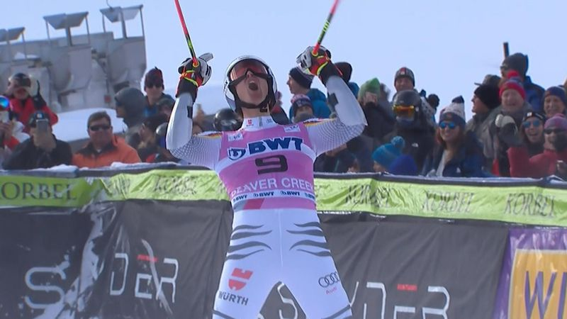 WATCH: Luitz beats Hirscher to claim giant slalom title at Beaver Creek