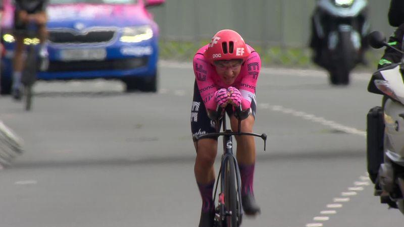 Stefan Bissegger vuela para llevarse la crono y colocarse líder en el Tour del Benelux