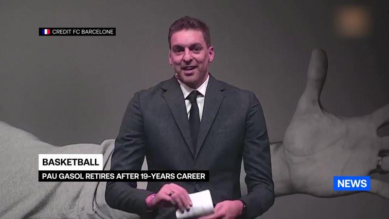 Un emocionadísimo Pau Gasol anuncia su retirada del baloncesto