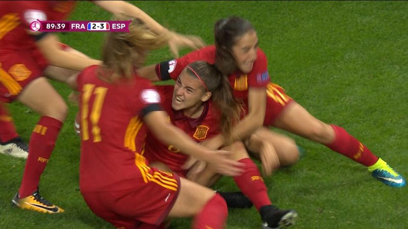 Highlights: Last-gasp Spain stun France in Women's U19 Euro final