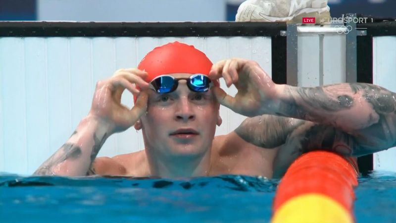 'This isn't a race, it's Peaty against the clock' - Brit surges into final