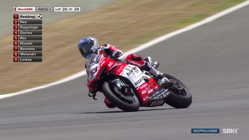 Superbikes: Redding se doctora en Jerez con Bautista séptimo