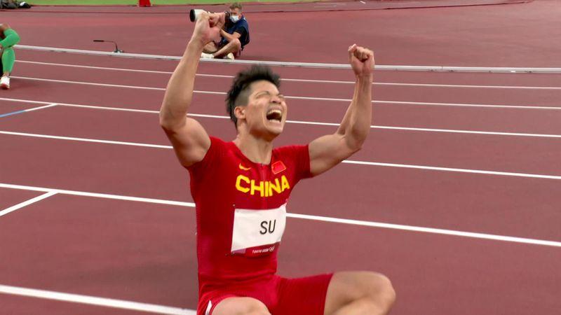 Zwei Rekorde im Halbfinale! Su Bingtian stürmt in 100-m-Finale