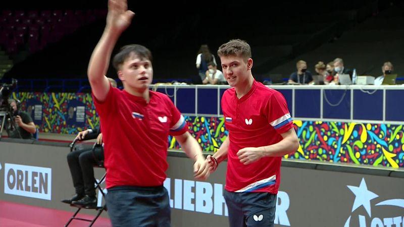 Россия впервые выиграла ЧЕ по пинг-понгу – зацени матчбол