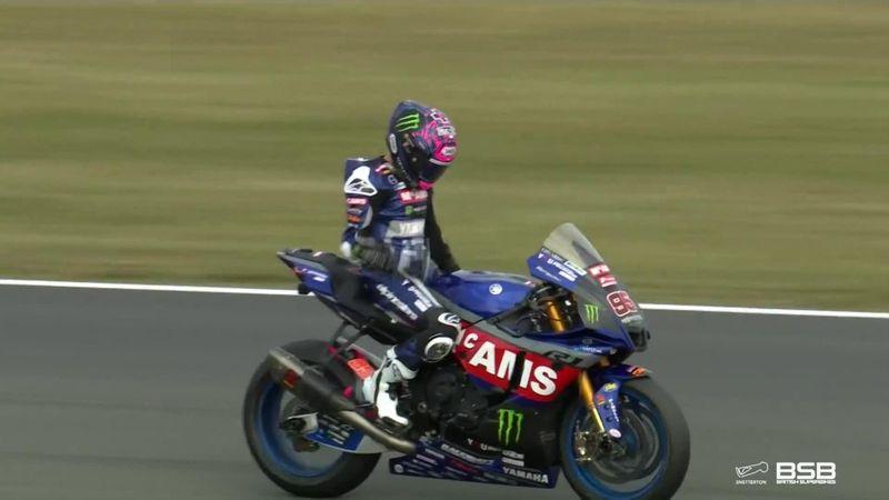 Tarran Mackenzie claims victory at Snetterton