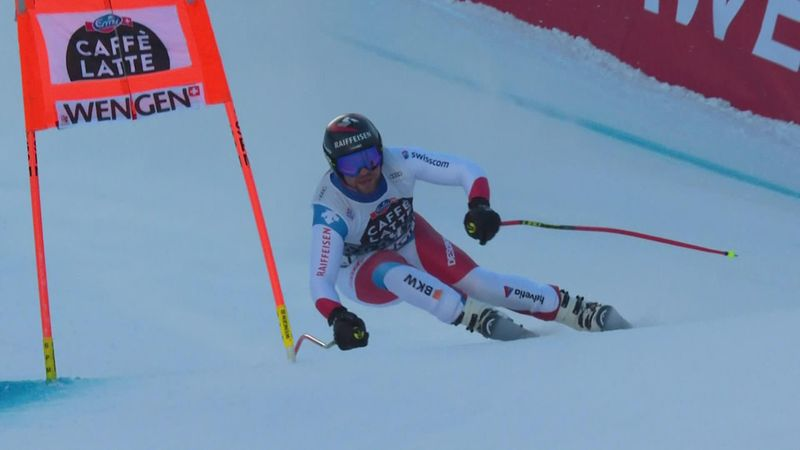 Watch Feuz's sensational winning run in Wengen World Cup downhill