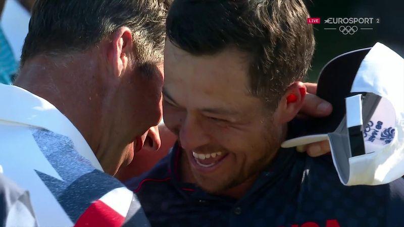 'Golden glory' - Schauffele triumphs in dramatic final round