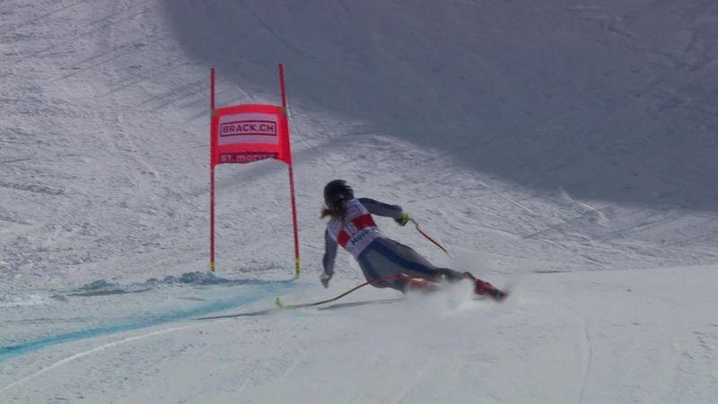 Super G | Goggia verliest stok maar wint toch in Sankt Moritz