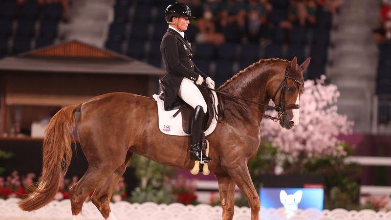 Werth und Bella Rose begeistern - Team Deutschland auf Gold-Kurs