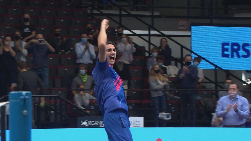Høydepunkter: Djokovic - Sonego