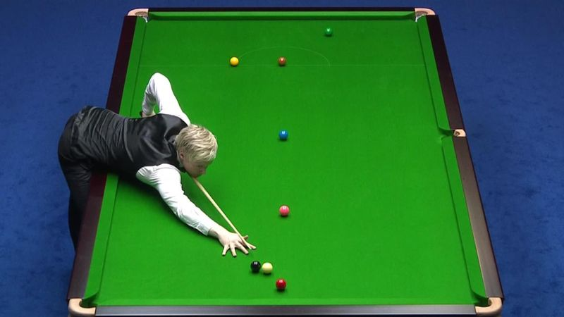 China Open : incredible shot by Robertson