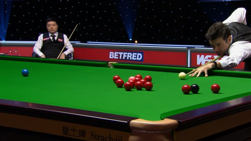 'Very few players could do that!' - O'Sullivan nails impressive jump shot