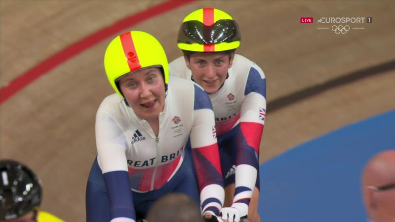 'Fabulous!' - GB's Kenny and Archibald 'strike gold' with madison triumph