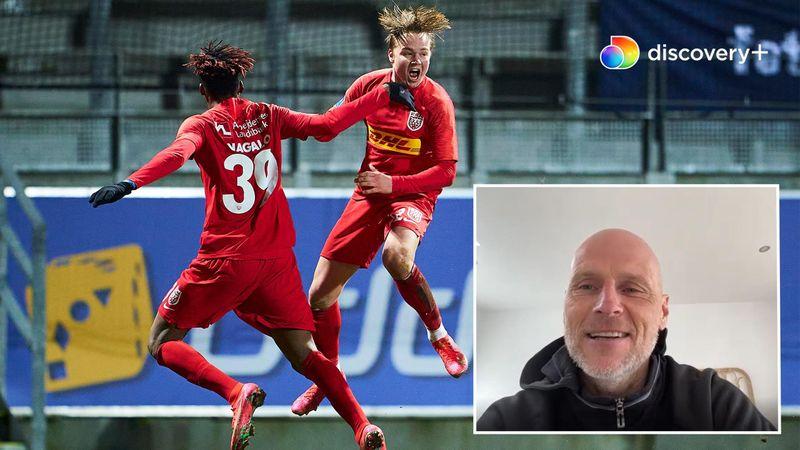 Interview med Solbakken: Schjelderup har en super fodbold-hjerne, men er ikke landsholdsaktuel endnu