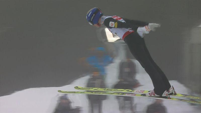 Johannes Lamparter soars to huge distance