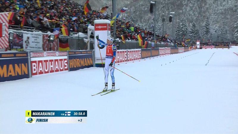Mäkäräinen vince l'inseguimento, Wierer e Vittozzi nella top 10