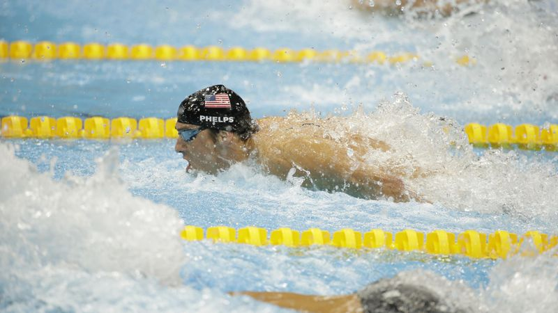 -100 a Tokyo: Phelps fa la storia a Londra, tutte le sue medaglie