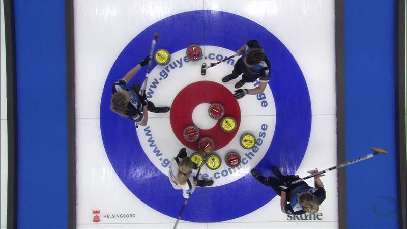 Curling ECH - finala feminină: Scoția a învins Elveția