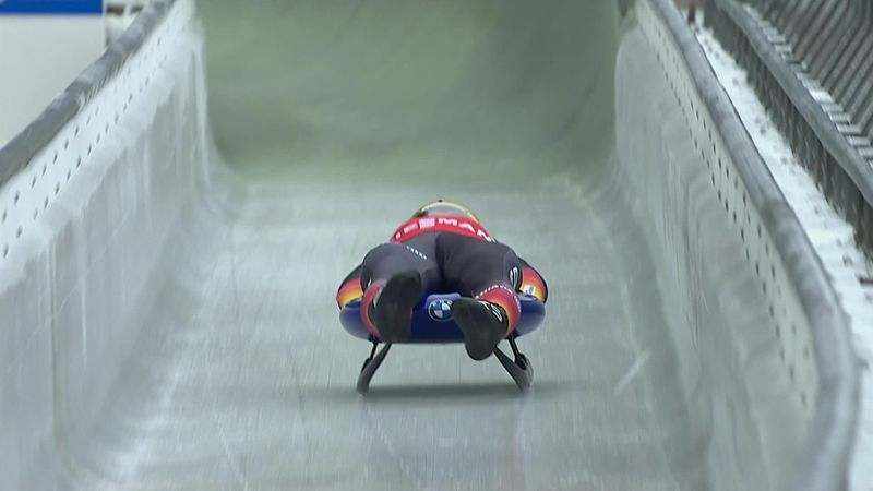 Watch Loch extend World Cup luge lead with victory in Konigssee