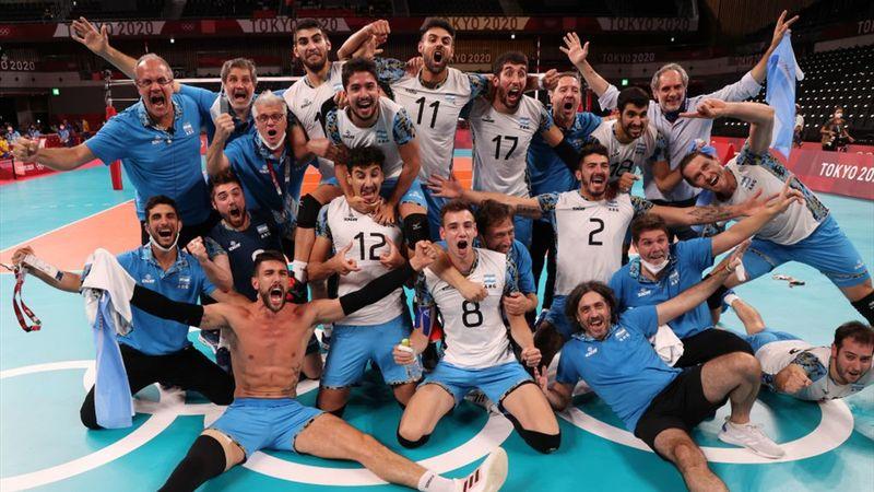Tokyo 2020 - Argentina mot Brazil - Men's Volleyball Bronze Medal Match – OL-høydepunkter