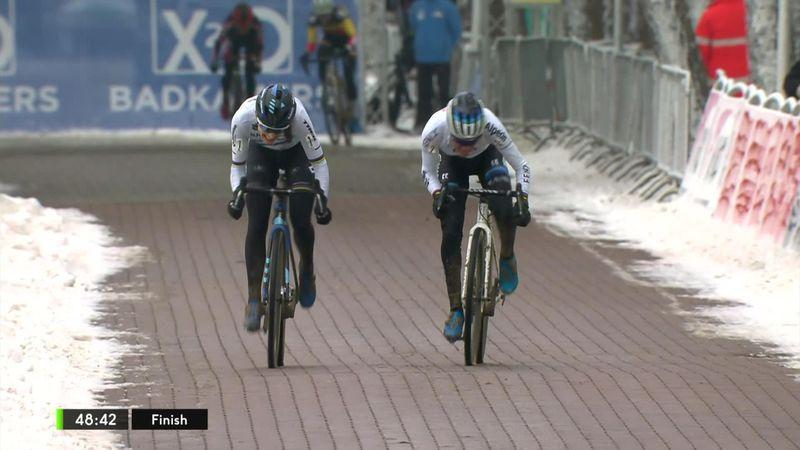 Che volata tra Alvarado e Brand nella neve di Lille, 10a la Lechner
