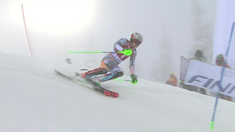 Wereldbeker Levi | Kristoffersen net buiten top-3 in run 1