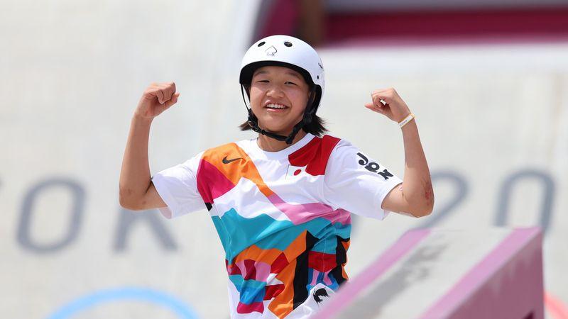 'Wow!' – 13-year-old Momiji Nishiya secures gold with incredible move