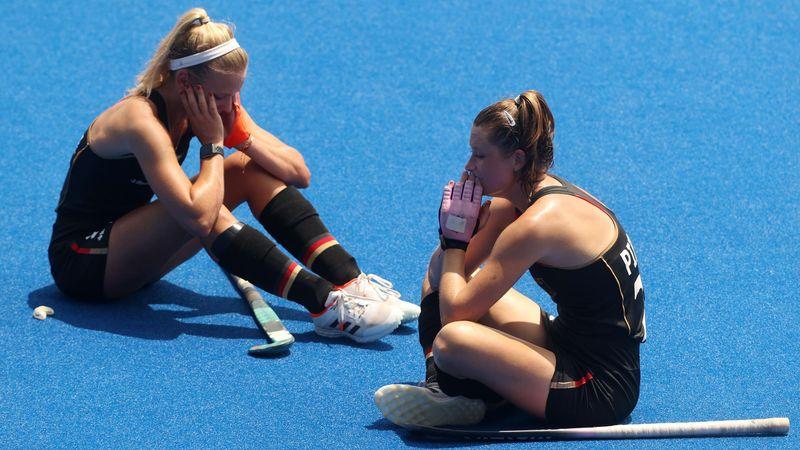 Tränenreiches Aus: Hockey-Damen scheitern im Viertelfinale