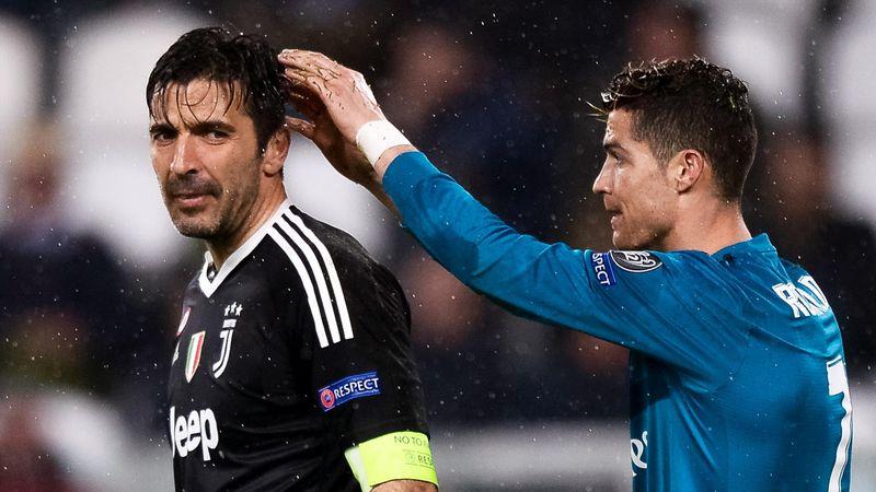 """Buffon plaudert aus dem Nähkästchen: """"Habe einen anderen Ronaldo kennengelernt"""""""