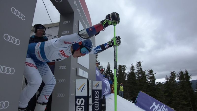 'Magical!' - Vlhova leads Giant Slalom after bottom-section brilliance