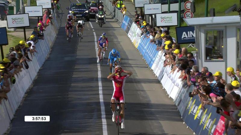 Tour de L' Ain: Nicolas Edet gana la segunda etapa ante un gran Javi Moreno