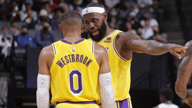 """Schau Comedy!"" Kurioser LeBron-Rat an Westbrook nach Lakers-Pleite"