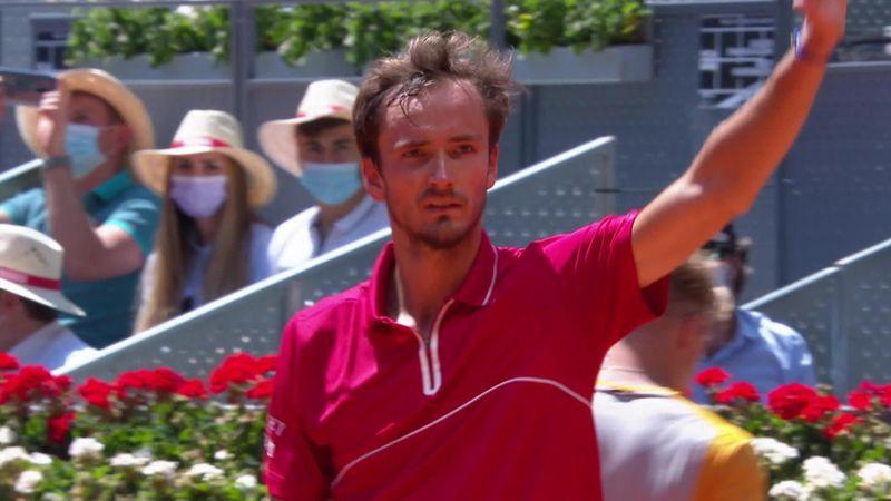 ATP Madrid: Rezumatul meciului dintre Medvedev și Davidovich Fokina. Rusul, în optimi la Caja Magica