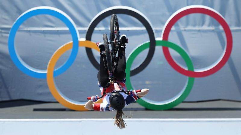 'The first time in history!' – Worthington claims gold with history-making backflip in BMX freestyle