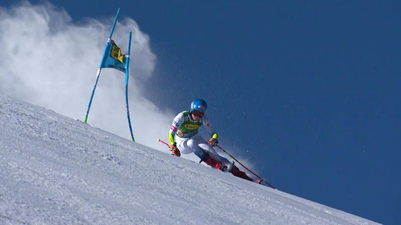 'Absolutely brilliant' - Shiffrin nails first run in Solden with 'textbook' effort
