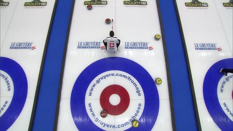 Curling ECH - finala masculină: Elveția a învins Rusia
