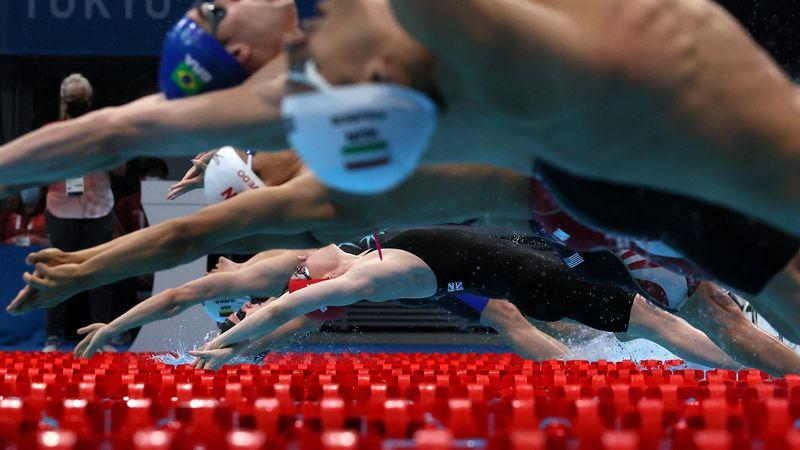Tokyo 2020 | Groot-Brittannië wint 4x100m wisselslag in wereldrecord