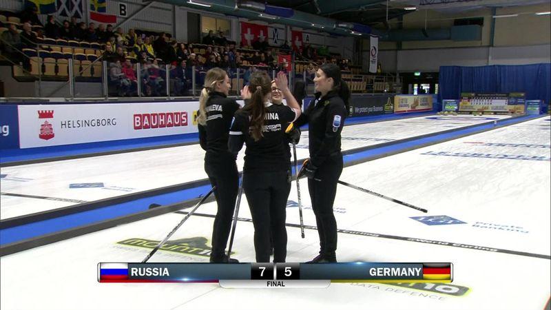 EK Helsingborg   Ook Rusland te sterk voor Duitsers