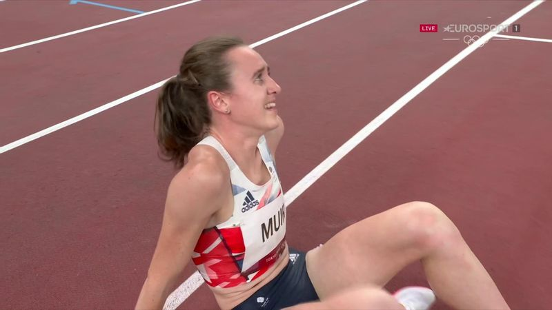 'What a performance!' - GB's Muir takes quite brilliant silver in 1500m