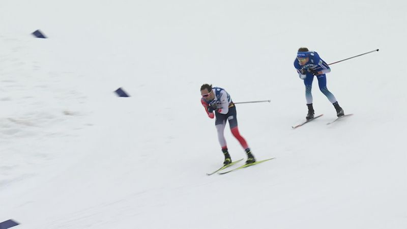 Hans Christer Holund leads home Norwegian podium to take 15km gold