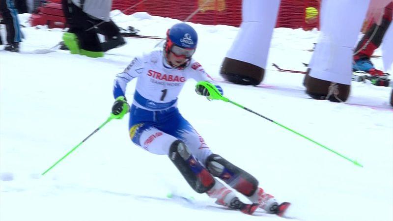 Spindleruv Mlyn slalom: Petra Vlhova's second run