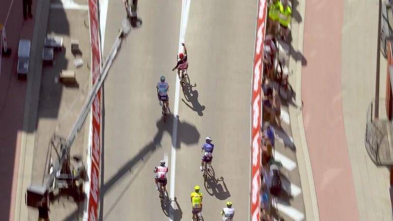Tour de Bélgica (3ª etapa): Ewan gana al sprint y Evenepoel sigue líder
