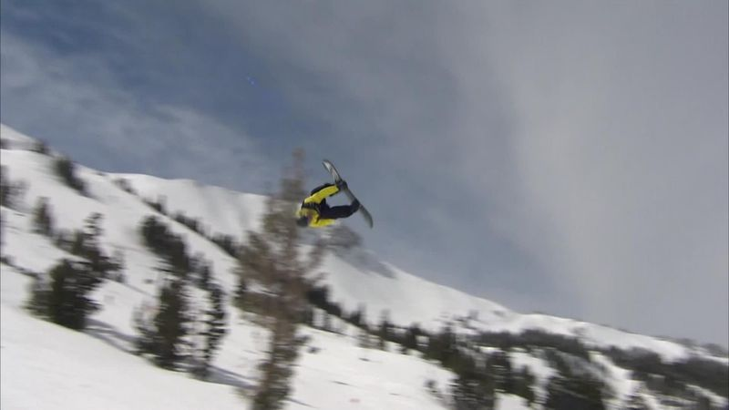 Gerard claims Mammoth Mountain Slopestyle